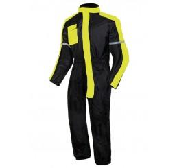 Kombinezon Przeciwdeszczowy Ozone Black/Flo Yellow
