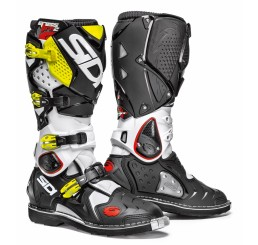 Buty SIDI Crossfire 2 White-Black Yellow Fluo