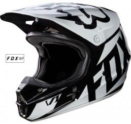 KASK FOX V-1 RACE BLACK WHITE