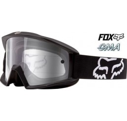 FOX GOGLE MAIN MATTE BLACK - SZYBA CLEAR