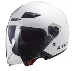 KASK LS2 OF569 TRACK SOLID WHITE